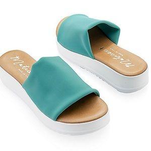 Matisse Paradise Open toe Sandals turquoise Pool